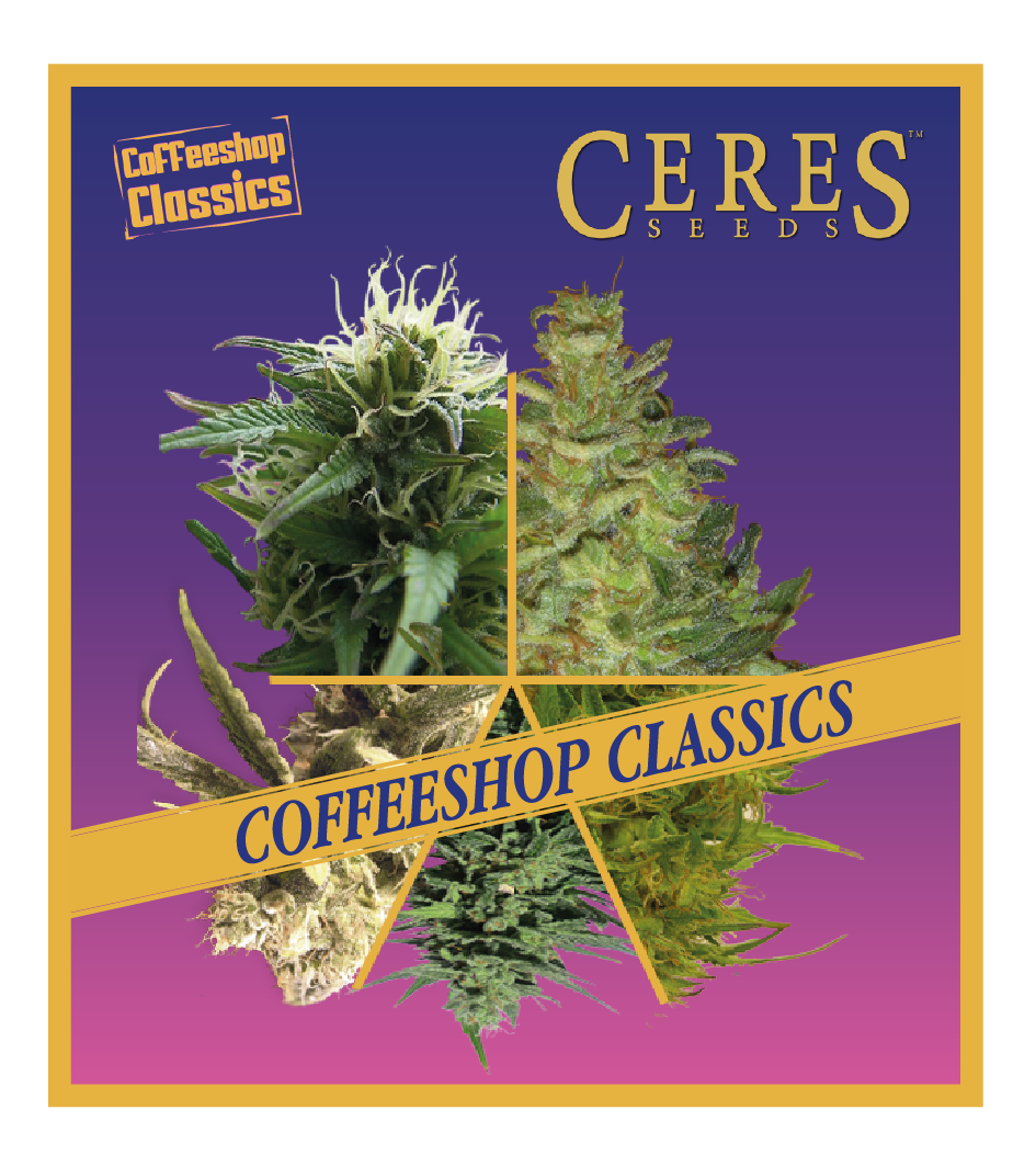 Auto-Flowering Cannabis Seeds Mix - Ceres Seeds Amsterdam
