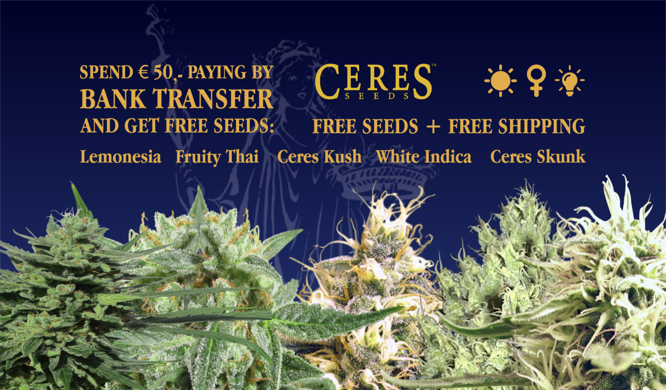 Free seeds and shipping by spending 50 euro